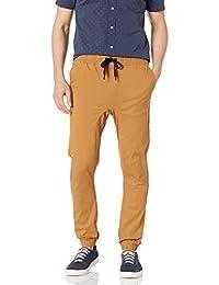 Southpole Mens Basic Stretch Twill Jogger Pants