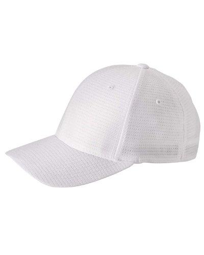 Yupoong Flexfit? Cool & Dry 6-Panel Cap (OS / WHITE) [Apparel] Dry 6 Panel Cap