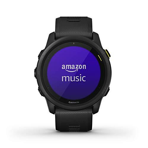 Garmin Forerunner 745, reloj para correr con GPS, estadísticas de entrenamiento detalladas y entrenamientos en el dispositivo, funciones esenciales de reloj inteligente, negro