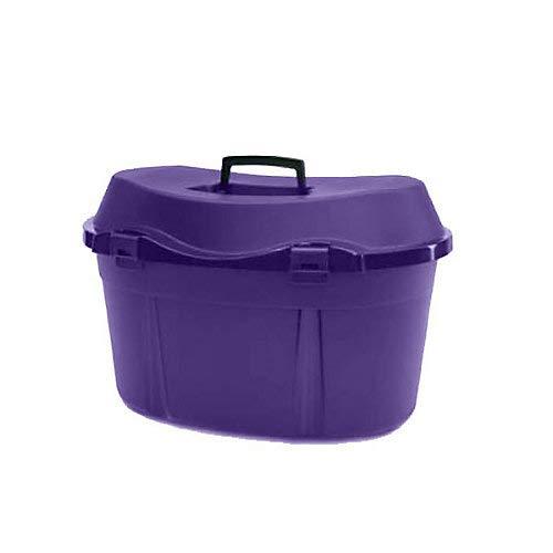 Horsemen's Pride Ascot Box 2, Large, Purple