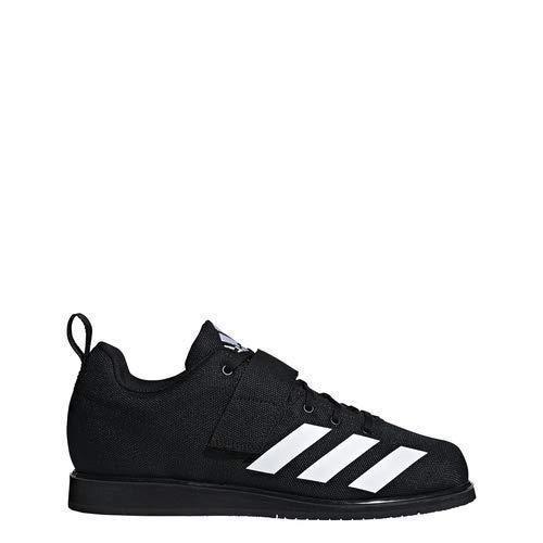 adidas Men's Powerlift 4, White/Black, 4 M US