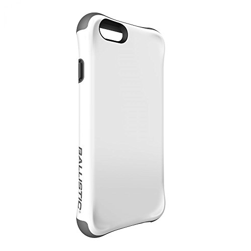 Ballistic, iPhone 6 Case / 6s Case [Urbanite] Six-Sided - 6ft Drop Test Certified Case Protection [White/Gray] Reinforced Bumper Cell Phone Case for iPhone 6 / 6s - White/Gray