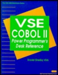 VSE Cobol II: Power Programmer's Desk Reference (IBM Mainframe S.)