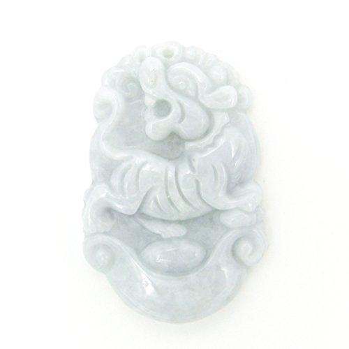 - OVALBUY Jadeite Jade Chinese Zodiac Amulet Pendant Various Animals (Tiger)