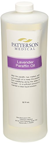 l, 1 Quart of Lavender Scented Liquid Paraffin for Paraffin Bath, Add to Paraffin Wax to Increase Viscocity, Aromatherapy Oil with Lasting Scent, Therapy Oil for Wax Dip (Liquid Paraffin Wax)