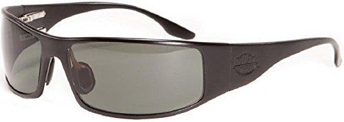 Outlaw Eyewear Fugitive TAC Black Frame, Polarized Gray - Sunglasses Outlaw