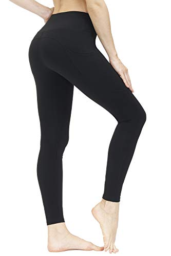 3AXE Women's High Waist Yoga Leggings with Pockets,Workout Yoga Pants for Tummy Control