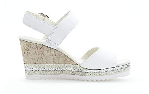 Weiss Gabor D'été Chaussures Compensées Sandales Femme Plat 54RjLA
