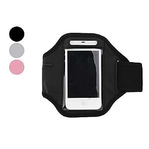 MOFY- Banda de Brazo Para Cargar el iPhone 4 y 4S de Funda de PVC Impermeable y Anti sudor - Colores Surtidos , Gris