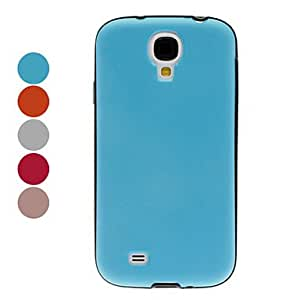 AES - Double Color TPU Case for Samsung Galaxy S4 I9500 (Assorted Color) , White