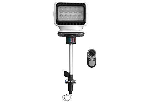 Golight LED Spotlight on Stanchion Mount - Wireless Remote - Navigational Lights - 900' Spot Beam(-6