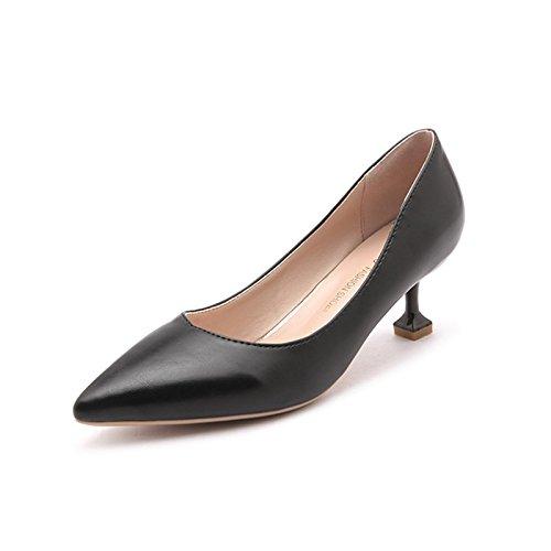 cm para Xue Tac Zapatos 5 Mujer con Qiqi Corte de wCqgCB