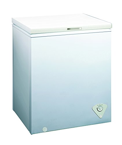 Price comparison product image Midea WHS-185C1 Single Door Chest Freezer, 5.0 Cubic Feet, White