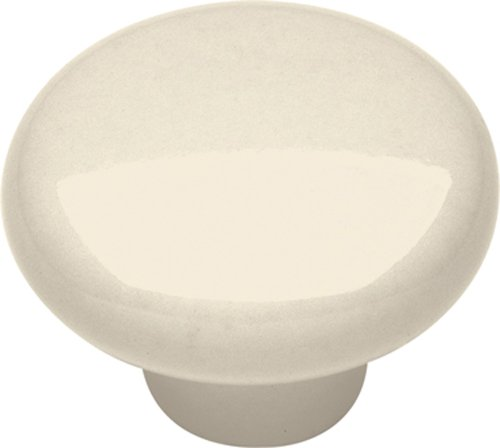 Hickory Hardware P28-LAD 1-1/4-Inch Tranquility Cabinet Knob, Light Almond Lad Light Almond