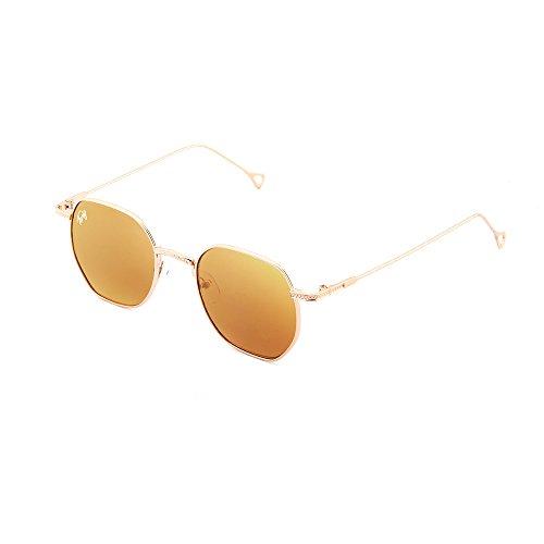BASQUIAT Gafas sol hombre mujer TWIG Bronce de Bronce espejo T6AUO6