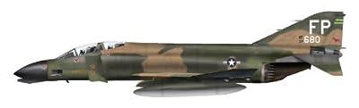 """F-4C Phantom II 1/72 Die Cast Model, """"63-7680,"""" Robin Olds """"Operation Bolo"""", 8th TFW, Ubon AFB, by Hobby Master HA1941"""