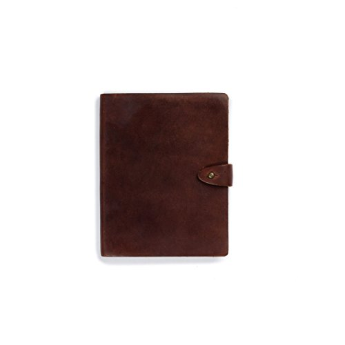 Rustico's Venture Leather Notebook, Lined Journals to Write in, Leather Softcover Writing Notebook With Stud, Journal Notebook With 192 Pages, Great Corporate Gifts - How Shape Your To The Of Eyes Know