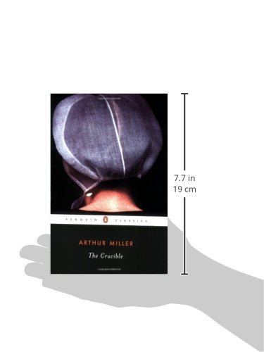 the crucible a play in four For the last four years i have taught the crucible to high school juniors using a class set of the penguin classics version of the play needing more copies, i placed an order for some with my school's librarian.