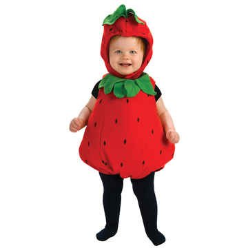 Cute Halloween Costumes For Baby Girls (Berry Cute Costume - Infant, Red, 6 - 12 Months)