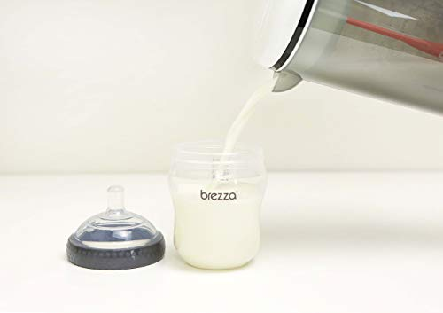 Baby Formula Mixer - Motorized Infant Machine System Mix 28oz of Formula at Once for Travel
