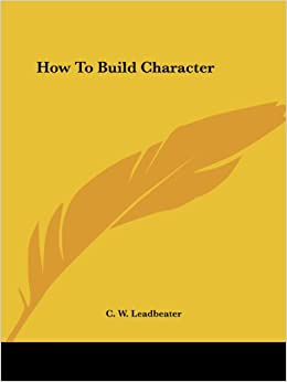 Book How To Build Character