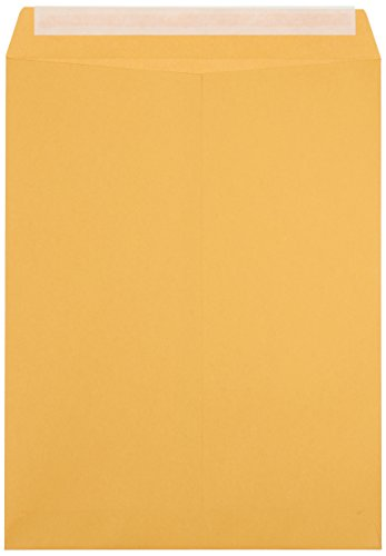 AmazonBasics Catalog Envelopes, Peel & Seal, 10 x 13 Inch, Brown Kraft, 100-Pack Photo #3