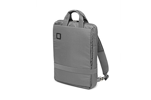 Moleskine ID Vertical Device Bag, Slate Grey, 15 Inch - For Work, School, Travel & Everyday Use, Space for Devices, Tablet, Laptop, Chargers, Notebook Planner or Organizer, Secure ()