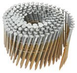 """Hitachi 12714 3-1/4"""" x .131 SM Full Round Head Hot Dipped Galvanized Wire Coil Framing Nails (4000 Count) from Hitachi"""