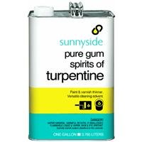SUNNYSIDE CORPORATION 870G1 1-Gallon Pure Gum Spirits Turpentine