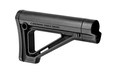 Magpul MAG481-BLK Fixed Carbine Stock - Commercial - Black by MAGPUL