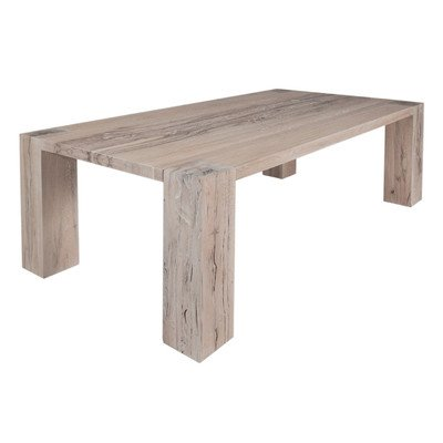 Esstisch Goliath Table Finish: Smoke Oil, Size: 77cm H x 200 cm W x 100cm D