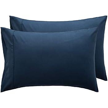 Amazon Com Amazonbasics 400 Thread Count Pillow Cases