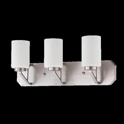 Concord Fans PA-210A-S-SN Lightkit 2 Light Door Fixture, Satin Nickel