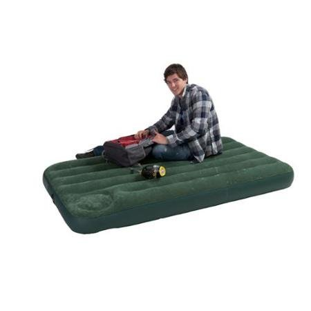 INTEX Twin Air Bed Outdoor Camping Downy Inflatable Mattress | 66927E WLM