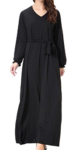 arab black dress - 7