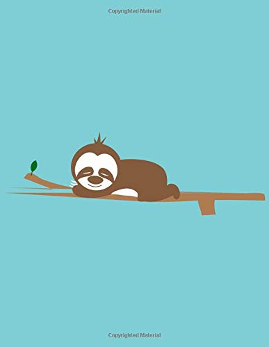 Sloth Relaxes Notebook: Journal Paper Notebook]()