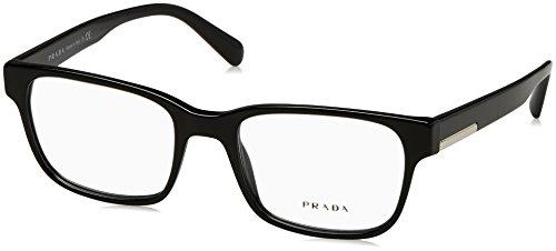 1ab1o1 Glasses - Eyeglasses Prada PR 6 UV 1AB1O1 BLACK