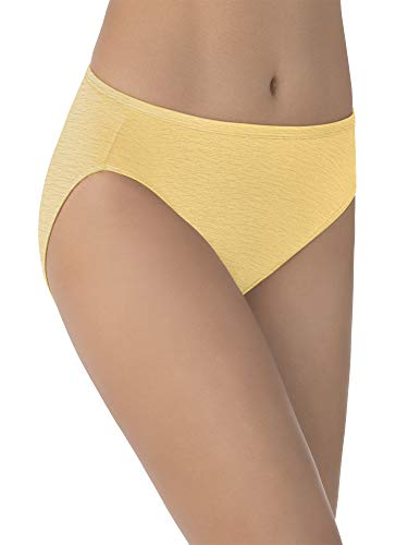 Vanity Fair Women's Illumination Hi Cut Panty 13108, Blonde, 3X-Large/10 ()