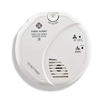 First Alert SCO5CN Battery Operated Combination Smoke and Carbon Monoxide Alarm, Family Value 4 Pack with Free Goodies for Kids