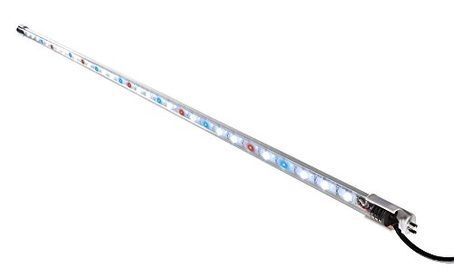 Elive Tube LED Aquarium Fish Tank Light, 10x Longer Lifetime Than Standard Lamps, T-5 and T-8 Fluorescent Lamp, 32 LEDs, 36 Inch, 7.0 Watt, Plant & Coral - Light Fluorescent Grow Lamp T5