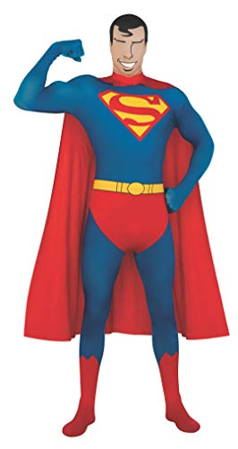 Rubie's Men's DC Comics 2nd Skin, Superman, Extra-Large -