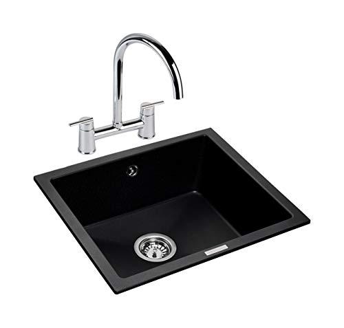 (Rangemaster PAR4553AS/ Paragon Kitchen Sink, Ash)