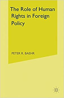 Book Role of Human Rights in Foreign Policy
