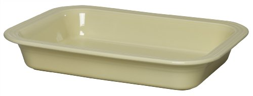 Fiesta 9-Inch by 13-Inch Lasagna Baker, Ivory by Homer Laughlin