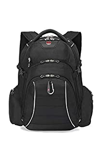 Swiss Gear International Carry-On Size Rainproof Backpack for Laptop - Fits 15.6-Inch to 17.3-Inch Laptop, Black (B00SF8KY8C) | Amazon Products