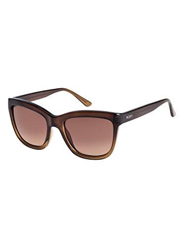 Roxy Womens Jane - Sunglasses - Women - One Size - Brown Shiny Crystal Brown Gradient/One - Roxy Womens Crystal
