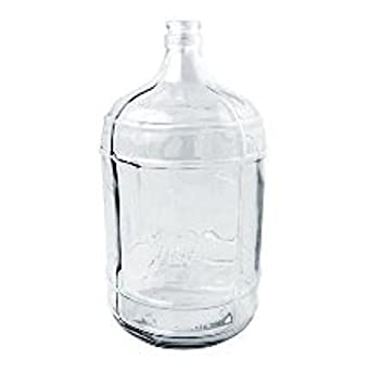 Monster Brew Home Brewing Supplies HOZQ8 1292 Five Gal Glass Carboy Clear