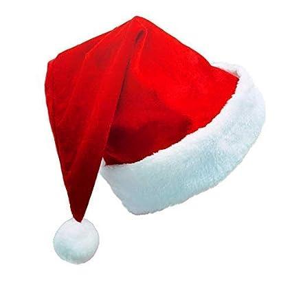 409c3089d635d Amazon.com  Kingstar Craft 2 Pack Christmas Santa Hats for Adult Big ...