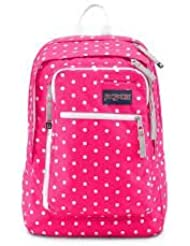 Jansport Insider Fluorescent Pink Dots Backpack