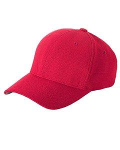 524b5112c84 Yupoong Flexfit Cool   Dry Pique Mesh Cap - RED - One (Blank Cool Mesh